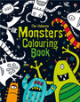 USBORNE - COLOURING BOOK - MONSTERS
