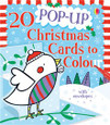 USBORNE - POP-UP CHRISTMAS CARDS TO COLOUR