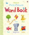 USBORNE - FIRST PICTURE BOARD BOOK - WORD BOOK