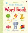 USBORNE - FIRST PICTURE BOARD BOOK - WORD BOOK
