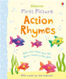 USBORNE - FIRST PICTURE BOARD BOOK - ACTION RHYMES