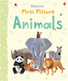 USBORNE - FIRST PICTURE BOARD BOOK - ANIMALS