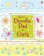 USBORNE - DOODLE PAD FOR GIRLS
