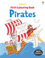 USBORNE - FIRST COLOURING BOOK - PIRATES