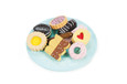 LE TOY VAN - HONEYBAKE - BISCUIT & PLATE SET