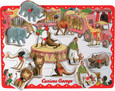 CURIOUS GEORGE - PEG PUZZLE