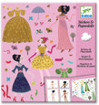 DJECO - STICKERS & PAPER DOLLS - DRESSES THROUGH THE SEASONS