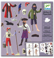 DJECO - STICKERS & PAPER DOLLS - PIRATES