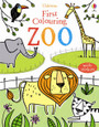 USBORNE - FIRST COLOURING BOOK - ZOO