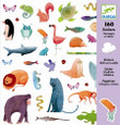 DJECO - STICKERS - WILD & CUDDLY