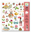 DJECO - STICKERS - PRINCESSES' TEA PARTY