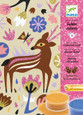 DJECO - COLOURED SAND & GLITTER ART - WOODLAND WONDERLAND