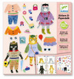 DJECO - STICKERS & PAPER DOLLS - MY CAT FRIENDS