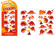 SCRATCH-AND-SNIFF STICKERS - RED HOT DINOS