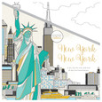 KAISERCRAFT - COLOURING BOOK - NEW YORK