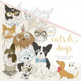 KAISERCRAFT - COLOURING BOOK - CATS & DOGS