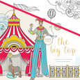 KAISERCRAFT - COLOURING BOOK - THE BIG TOP