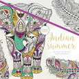 KAISERCRAFT - COLOURING BOOK - INDIAN SUMMER