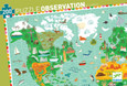 DJECO - OBSERVATION PUZZLE - AROUND THE WORLD - 350PCS