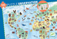DJECO - OBSERVATION PUZZLE - WORLD'S ANIMALS - 100PCS