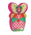 DJECO - SILHOUETTE 36PC PUZZLE - THE BUTTERFLY LADY