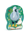DJECO - SILHOUETTE 24PC PUZZLE - THE UGLY DUCKLING