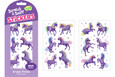 SCRATCH-AND-SNIFF STICKERS - GRAPE PONIES