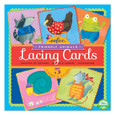 EEBOO - LACING CARDS - FRIENDLY ANIMALS