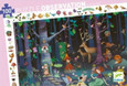 DJECO - OBSERVATION PUZZLE - ENCHANTED FOREST - 100PCS