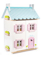 LE TOY VAN - DOLLHOUSE with FURNITURE - BLUE BIRD COTTAGE