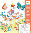 DJECO - COLOURING SURPRISE - LADY BUTTERFLY