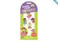 SCRATCH-AND-SNIFF STICKERS - FLOWER FAIRIES