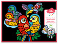 DJECO - VELVET COLOURING - BABY BIRDS