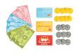 LE TOY VAN - HONEYBAKE - PLAY MONEY SET
