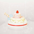LE TOY VAN - HONEYBAKE - STRAWBERRY WEDDING CAKE