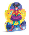 DJECO - SILHOUETTE 36PC PUZZLE - SUPER STAR