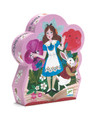 DJECO - SILHOUETTE 50PC PUZZLE - ALICE IN WONDERLAND