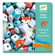 DJECO - WOODEN BEADS - SMALL ANIMALS
