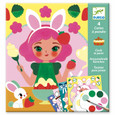 DJECO - CARDS TO PAINT - SNACK TIME