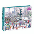 GALISON - 1000PC JIGSAW PUZZLE BY MICHAEL STORRINGS - BETHESA FOUNTAIN