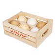 LE TOY VAN - HONEYBAKE MARKET - FARM EGGS IN A CRATE