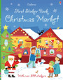 USBORNE - FIRST STICKER BOOK - CHRISTMAS MARKET
