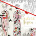 KAISERCRAFT - COLOURING BOOK - EXPLORE JAPAN