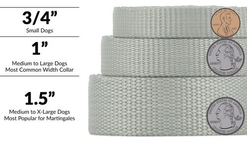 Dog Collar Widths