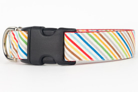 Rover Stripe Dog Collar
