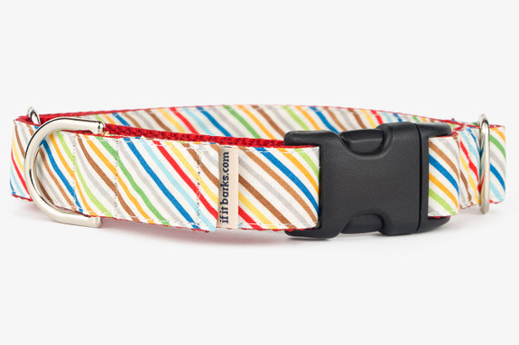 Rover Stripe Patterned Fabric Martingale