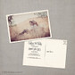 Caitlyn - 4x6 Vintage Photo Save the Date Postcard card