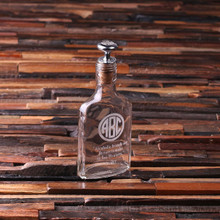 Groomsmen Bridesmaid Gift Personalized Vintage Style Whiskey Flask