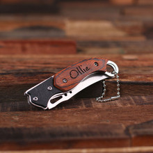 Groomsmen Bridesmaid Gift Personalized Cutely Designed Pocket Knife
