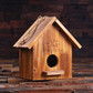 Groomsmen Bridesmaid Gift Pine Wood Functional Bird House